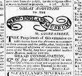 1822 NewEnglandMuseum July17 BostonDailyAdvertiser.png