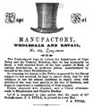 1846 hats advertisement Cape Town.png