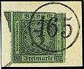 1853 3kr Baden 165 Rittersbach Mi6.jpg