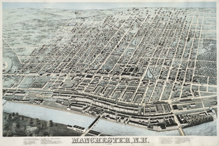 Timeline Of Manchester New Hampshire Wikipedia - Manchester new hampshire map