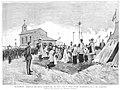 1884-09-22, La Ilustración Española y Americana, Bendición del nuevo cementerio del Este, Alcázar.jpg