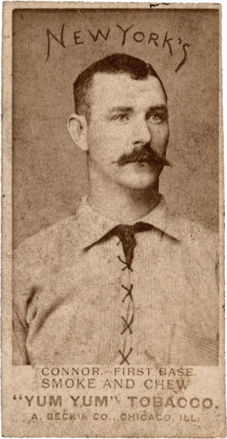 Roger Connor - 1888 baseball card of Connor