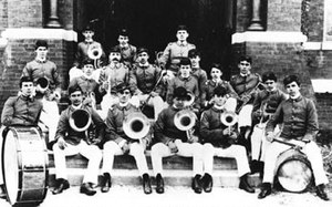 Auburn University Marching Band - The original Auburn Band in the year 1897