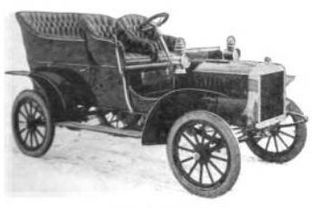 Brass Era car