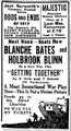 1918 Majestic theatre BostonGlobe March29.png