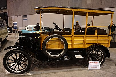 1923 Ford Model T Depot Hack : ford models cars - markmcfarlin.com