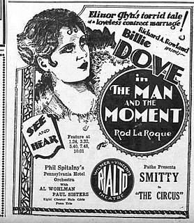 <i>The Man and the Moment</i> 1929 film