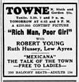 1938 - Towne Theater Ad - 26 Sep MC - Allentown PA.jpg