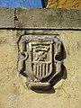 193 Escut de l'antic convent de La Merced, c. La Estación - pl. Pedro Menéndez (Sabugo, Avilés).jpg