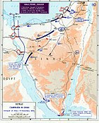 Israeli conquest of Sinai