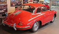 1960 Porsche 356B T5 1600 Super Coupe Rear.jpg