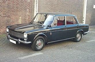 Simca 1300/1500 - 1964 Simca 1500 saloon