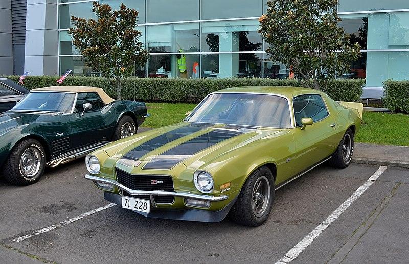 File:1971 Chevrolet Camaro Z28 (19576972259).jpg