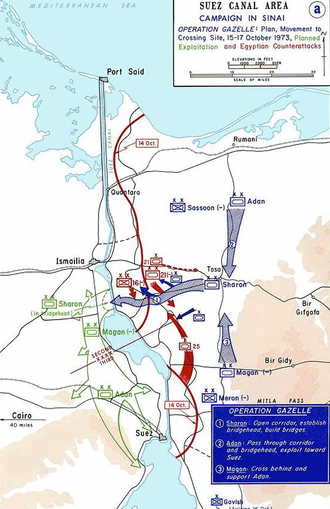 Battle of the Chinese Farm - The Israeli plan for Operation Abiray-Lev