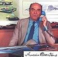 1975 Nuccio Bertone on the phone.jpg