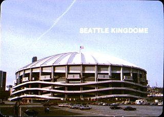Kingdome Demolished stadium in Seattle, Washington, U.S.