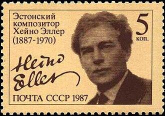 Heino Eller - Image: 1987 CPA 5813