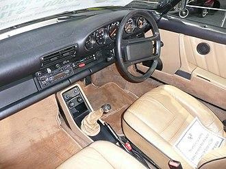 Porsche 930 - Interior