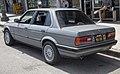 1991 BMW 318i four-door, rear left (LA).jpg