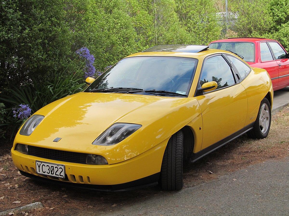 Px Fiat Coupe Vtu