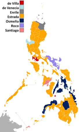 1998 Philippine presidential election - Wikipedia