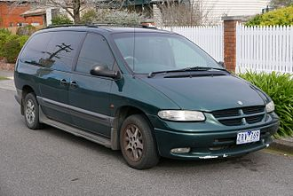 Chrysler minivans (NS) - 1998 Chrysler Voyager, Australian model