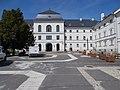 1 Rákóczi Road, main building, courtyard side, N-NW, 2020 Sárospatak.jpg