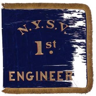 1st New York Volunteer Engineer Regiment - Image: 1st Eng Marker