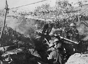 BL 2.75-inch mountain gun - Firing on the Doiran front, Salonika 1917