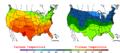 2006-05-21 Color Max-min Temperature Map NOAA.png