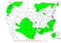 2008-08-18 24-hr Precipitation Map NOAA.png