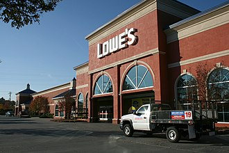 Lowe's - Image: 2008 11 10 Lowe's Home Improvement Warehouse in Chapel Hill