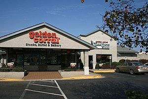 English: Golden Corral restaurant at 3800 Nort...