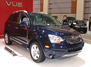 2008 Saturn Vue photographed at the Washington...