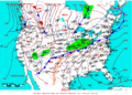 2009-03-07 Surface Weather Map NOAA.png