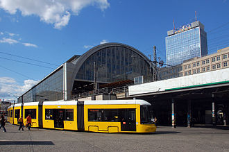 Berlin Alexanderplatz station - Image: 2009 07 26 berlin by Ralf R 48
