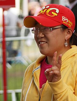 2009 Women's British Open - Jiyai Shin (2).jpg
