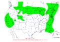 2011-01-03 24-hr Precipitation Map NOAA.png