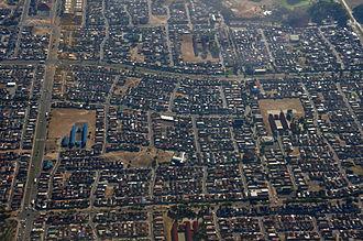 Mitchells Plain - Aerial view of Mitchell's Plain
