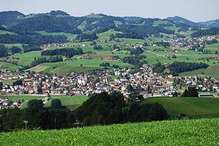 Bütschwil-Ganterschwil Place in St. Gallen, Switzerland