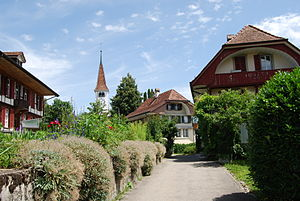Frauenkappelen - Frauenkappelen church and village