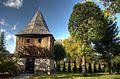 20121009 18800 1 2 tmEnh=Wytomyśl - kościół z k. XVIII - dzwonnica.jpg