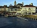 2012 'Seegfrörni' - Zürichsee - Rapperswil Hafen - Seequai-Fischmarktplaz - Seedamm 2012-02-18 16-57-11 (SX230).JPG