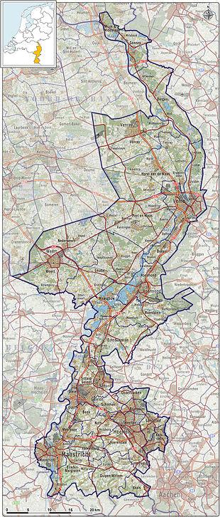 limburg holland karte Limburg (Niederlande) – Reiseführer auf Wikivoyage