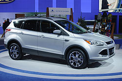 2013 Ford Escape at the 2011 Los Angeles International Auto Show.
