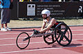2013 IPC Athletics World Championships - 26072013 - Brent Lakatos winner of the Men's 100m - T53.jpg