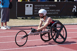 Brent Lakatos Canadian wheelchair racer