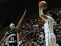 2013 Virginia Tech - Robert Morris - player shooting over 11.jpg