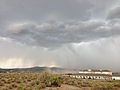 2014-07-20 14 58 42 Blowing dust along the outflow boundary of a thunderstorm in Elko, Nevada.JPG