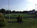 2014-08-30 09 50 03 Football field and track at Ewing High School in Ewing, New Jersey.JPG